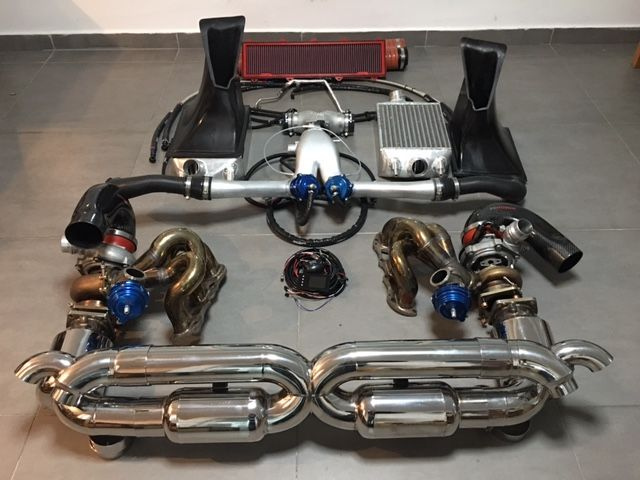 Porsche 991 Turbo Non Vtg Turbo Kit Esmotor