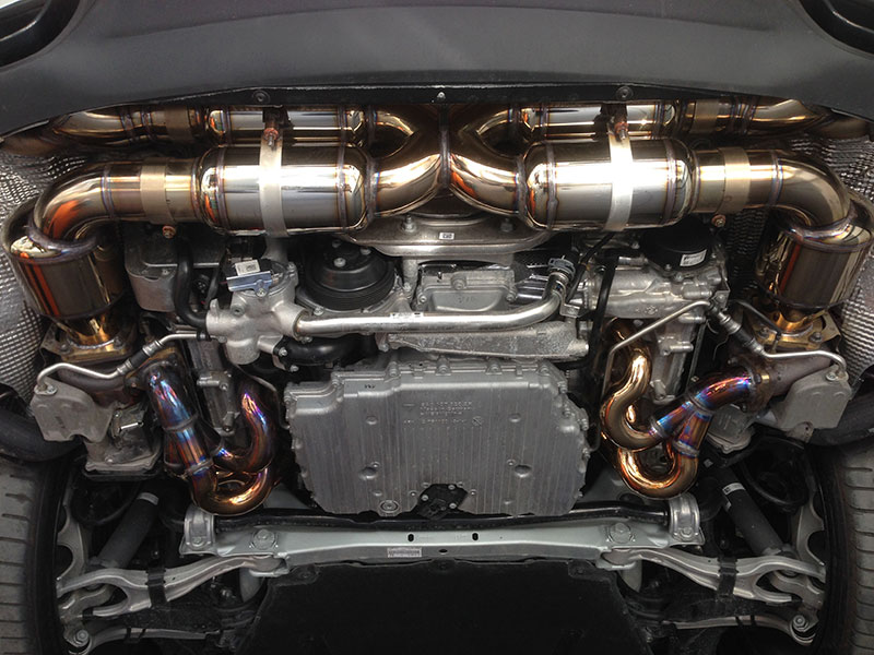 Porsche 997 2 Turbo S Exhaust Kit Esmotor