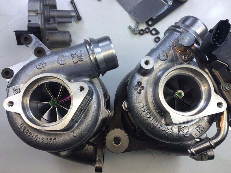 porsche 997 gt2 vtg turbo upgrade kit